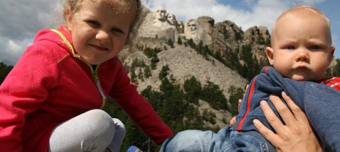 Góry Czarne. Mt Rushmore, Custer State Park