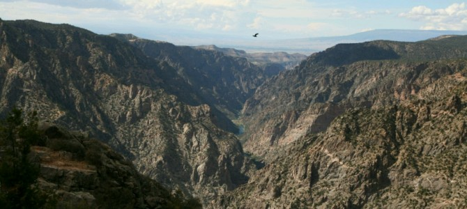 Colorado, Park Narodowy Black Canyon of The Gunnison